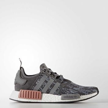 Women's Grey/Pink NMD_R1 Shoes