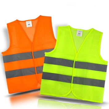 Car Motorcycle Reflective Safety Clothing High Visibility Safety Reflective Vest