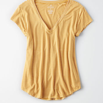 AE Soft & Sexy Favorite Tee, Yellow
