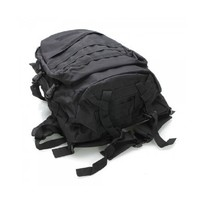 COOLGO Outdoor 600D Oxford Cloth Backpack for Tactical War-game, Wild Adventure, Outdoor Sports Black,ship from US