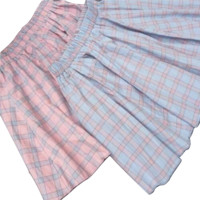 COLORFUL PLAID SKIRT
