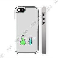 RCO - Funny Chemistry Beaker Custom Case for Iphone 4 4s 5 5c 6 6plus (iphone 6 white)