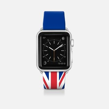 United Kingdom flag - Patriot collection Apple Watch Band (42mm)  by WAMDESIGN | Casetify