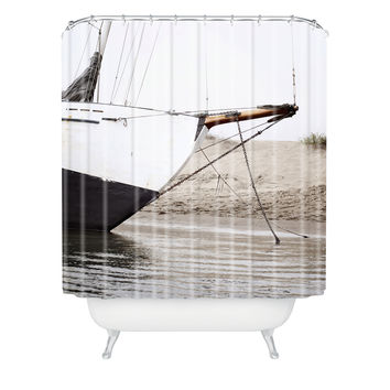 Bree Madden Sail Boat Shower Curtain