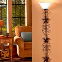 Country Star Wall Lamp Cordless Living Room