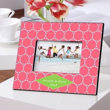 Personalized Color Bright Frames - Hula Hoop