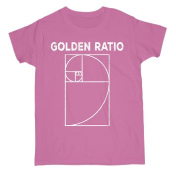 Fibonacci Golden Ratio Math Lover Gift Womens Tee Shirt