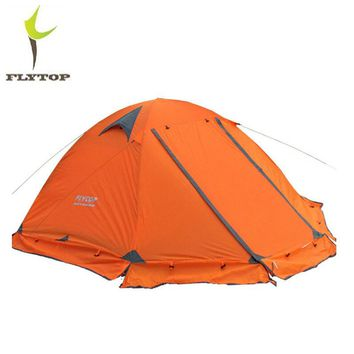 FLYTOP Camping Tent 2 Persons Double Layer Wind/Waterproof