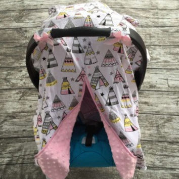 In Stock -teepee  Car Seat Cover