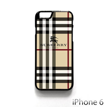 Burberry Pattern London for Iphone 4/4S Iphone 5/5S/5C Iphone 6/6S/6S Plus/6 Plus Phone case