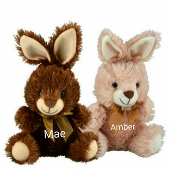Personalized chocolate scented easter animals, monogrammed gifts, holiday gift ideas