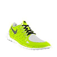Nike Free 5.0 iD Custom Men's Running Shoes - Yellow