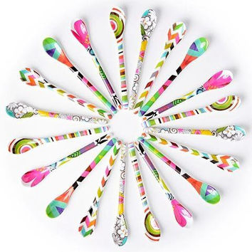 Melamine Dessert Spoons by French Bull