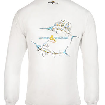 Men's Marlin & Sail X-Ray L/S UV Fishing T-Shirt