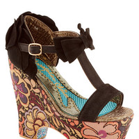 Irregular Choice Statement Groovy Star Heel
