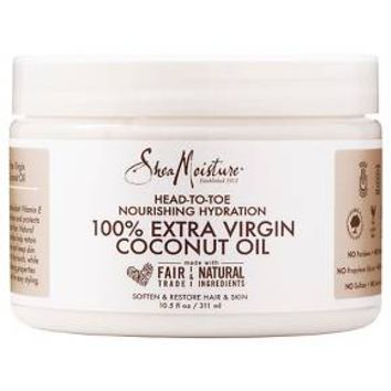 SheaMoisture 100% Coconut Oil 10.5 oz