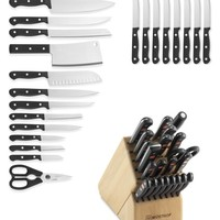 Wüsthof Gourmet 23-Piece Knife Block Set