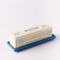 Fishs Eddy Butter Dish