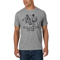 '47 Brand Villanova Wildcats Mens Short Sleeve Fashion T-Shirt - Grey