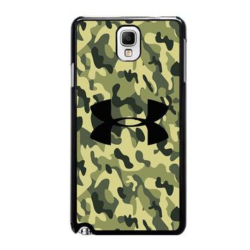 CAMO BAPE UNDER ARMOUR Samsung Galaxy Note 3 Case Cover