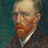 Vincent Van Gogh Self-Portrait Poster 11x17