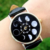 Moon Phases Watch • 🌿 Kloica Accessories