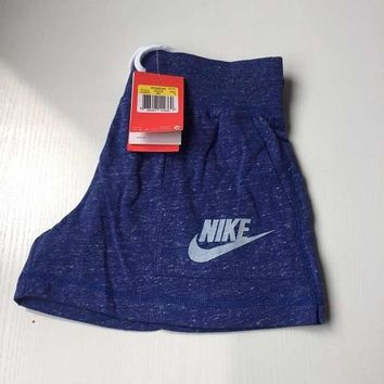 nike like fashion print exercise fitness gym yoga running shorts-2