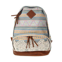 Pastel Aztec Backpack