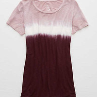 Aerie Real Soft® Tee, Deep Plum