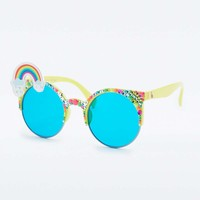 Rainbow Glasses - Urban Outfitters