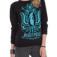 Pierce The Veil Blue Girl Girls Crew Pullover