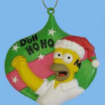 Homer Simpson Ornament - Officially Licensed Merchandise