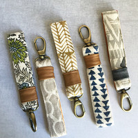 Hand Printed Lanyards