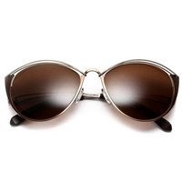 house of harlow 1960 - steph sunglasses (brown) - House of Harlow 1960 | 80's Purple