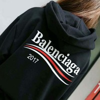 balenciaga casual long sleeve top sweater hoodies sweatshirt 5