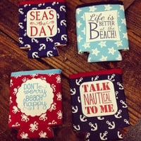 Nautical Koozie Collection