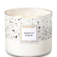 VANILLA BIRCH3-Wick Candle