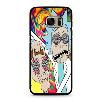 Rick And Morty Eyes Open Samsung Galaxy S7 Case