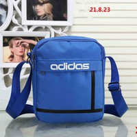 ADIDAS 2018 new trend of men and women stylish wild leisure backpack F-XS-PJ-BB blue