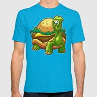 Turtle Burger T-shirt by Artistic Dyslexia | Society6