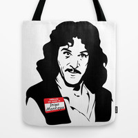 Hello, My Name is Inigo Montoya Tote Bag by Rich Anderson