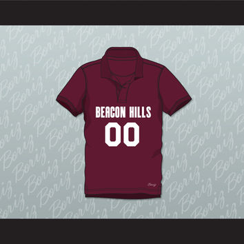 Derek Hale 00 Beacon Hills Cyclones Polo Shirt Teen Wolf
