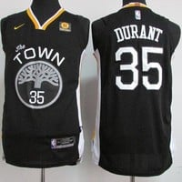 Best Sale Online Nike NBA Basketball Jersey Golden State Warriors # 35 Kevin Durant Black
