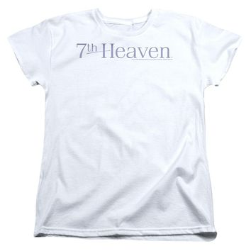 7 Th Heaven - 7 Th Heaven Logo Short Sleeve Women's Tee