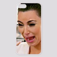 Kim Kardashian with Protective Cover Case For iphone 6 iPhone 6plus iPhone 5/5S iPhone 4/4S, iPhone 5C (Case for iPhone 6plus Black)