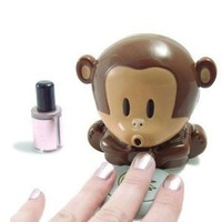 Amazon.com: Cute Monkey Shaped Manicure Nail Polish Blower Dryer: Beauty