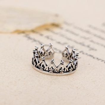 Imperial Crown Open Ring