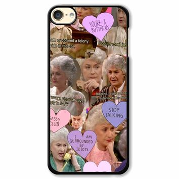 The Golden Girl Collage iPod Touch 6 Case