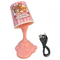 Pink Ice Cream Desk Lamp