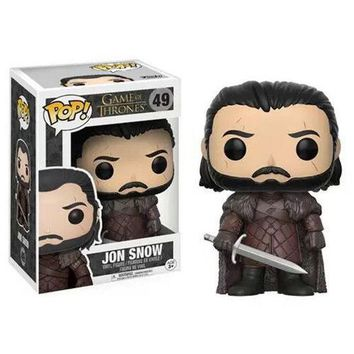 POP! Game of Thrones House Stark of Winterfell (Jon Snow) Doll Exclusive #49 Toy